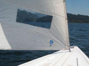 Sailing Lake Whatcom, Bellingham