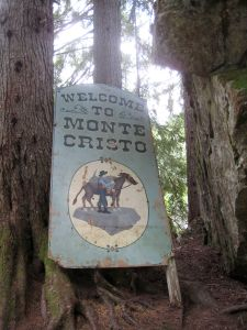 Monte Cristo mining town