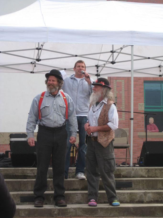 Dirty Dan Harris lookalikes at Fairhaven's Dirty Dan Festival